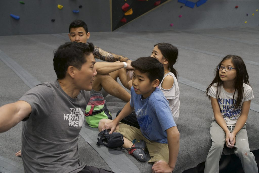 Indoor Rock Climbing Class